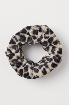 H&M Faux Fur Tube Scarf