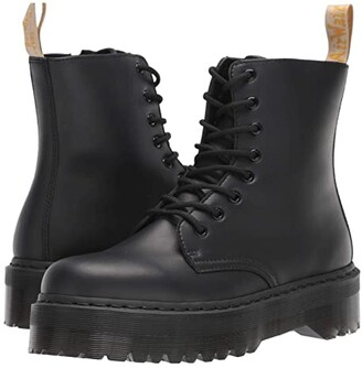 Dr. Martens Jadon II Mono Vegan (Black Felix Rub Off) Shoes