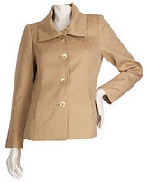 George Simonton Fully Lined Jacquard Jacket with Metallic Detail