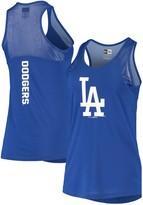 New Era Women's Royal Los Angeles Dodgers Mesh Insert Jersey Tank Top