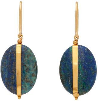 Isabel Marant Blue Stone Earring