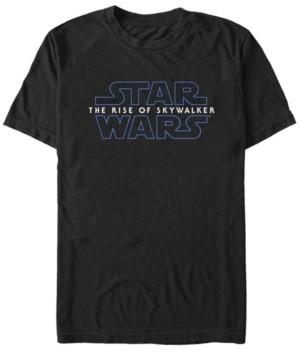 Star Wars Men's Rise of Skywalker Simple Logo T-shirt