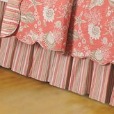 Bed Bath & Beyond Natural Shells California King Bed Skirt in Coral