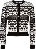 M Missoni chevron button down cardigan
