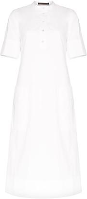 Eckhaus Latta Cascade midi dress