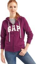 Gap Felt logo zip hoodie