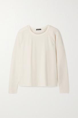 James Perse Cotton And Cashmere-blend Sweater - Ecru