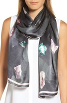 Ted Baker Women's Mirrored Minerals Long Silk Scarf