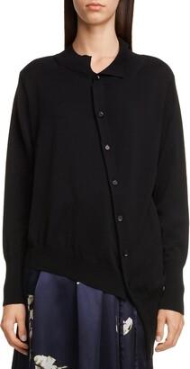Yohji Yamamoto Y's by Asymmetrical Sweater