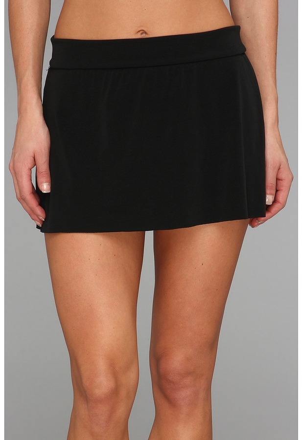 Magicsuit Solid Jersey Pull On Skirt