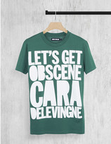 House of Holland Cara Delevingne cotton-jersey t-shirt