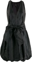 Pinko belted balloon-style dress