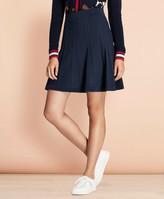 Brooks Brothers Diamond-Cable Knit Skirt