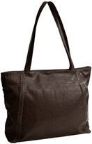 Latico Leathers Braided Leather Tote Bag (For Women)