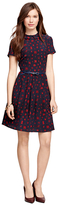Brooks Brothers Silk Printed Dress