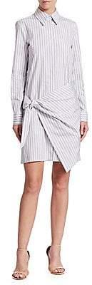 Victoria Victoria Beckham Victoria, Victoria Beckham Victoria, Victoria Beckham Women's Front Wrap Shirt Dress