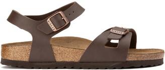Birkenstock Rio Faux Leather Flat Sandals