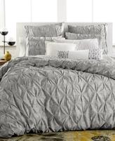 Bar III Diamond Pleat Full/Queen Comforter