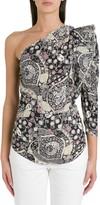Etoile Isabel Marant Carina One-shoulder Dress