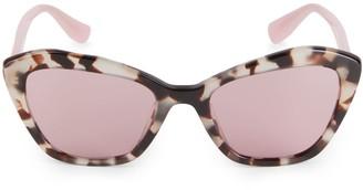 Miu Miu 55MM Cat Eye Sunglasses