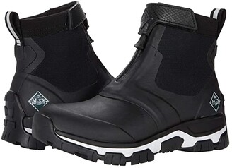 The Original Muck Boot Company Apex Mid Zip (Black/White) Women's Shoes