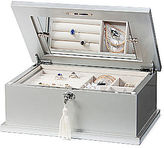 JCPenney Asstd Private Brand Silver Shell Jewelry Box
