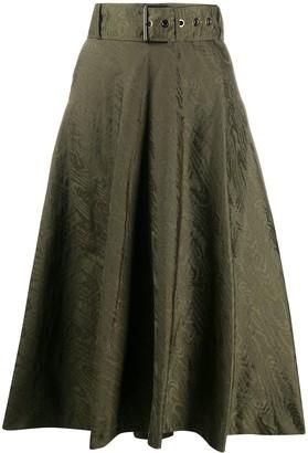Pinko Felicia flared midi skirt