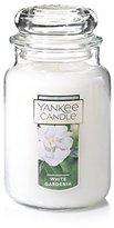 Yankee Candle Large Jar Candle, White Gardenia