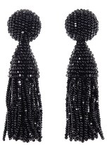 Oscar de la Renta Women's 'Classic Short' Tassel Drop Earrings