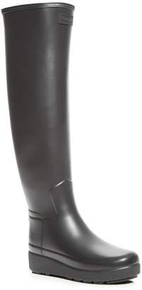 Hunter Women's Refined Tall Creeper Rain Boots