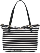 Kate Spade striped shoulder bag - women - Polyester - One Size