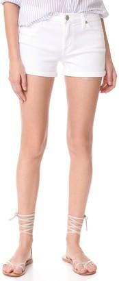Hudson Women's Asha Midrse Cuffed 5-Pocket Short