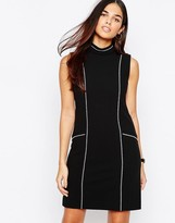Warehouse Topstitch Dress