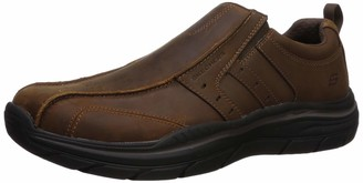 Skechers Men's Expected 2.0-Wildon Leather Slip ON Moccasin CDB 8 Extra Wide US