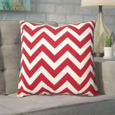 Mercury Row Bollin Chevron 100% Cotton Throw Pillow