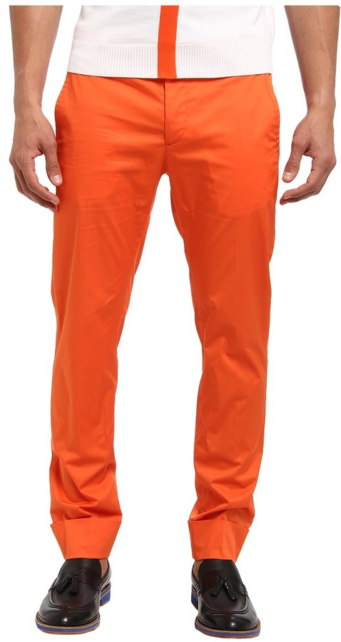 Bikkembergs Bikkemberg Stretch Cotton Trouer Men' Caual Pant