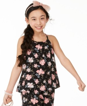 Epic Threads Big Girls Floral-Print Challis Top, Created for Macy's