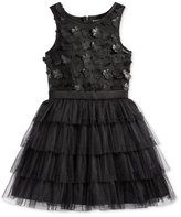 Nanette Lepore Satin-Floral 3D Special Occasion Dress, Big Girls (7-16)