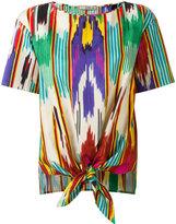 Etro ethnic print T-shirt - women - Cotton - 42