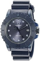 Emporio Armani Men's AR6083 Sport Blue Silicone Watch