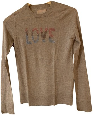 Zadig & Voltaire Grey Cashmere Knitwear for Women