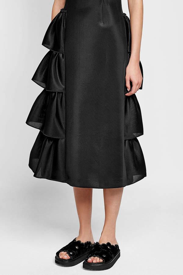 Simone Rocha Asymmetric Dress