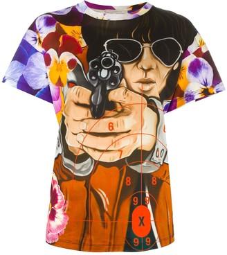 Christopher Kane illustration print T-shirt