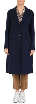 Gerard Darel Poppy Double-Face Wool Coat