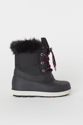 H&M Boots with waterproof feet