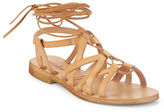 Cocobelle Cleo Leather Lace-Up Sandals