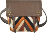 Jerome Dreyfuss Jeremie Small bag in chevron patchwork