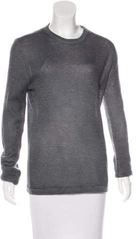 Prada Long Sleeve Crew Neck Sweater