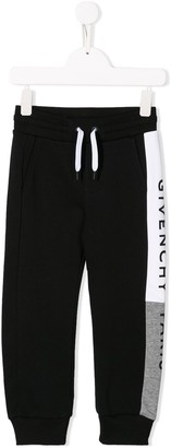 Givenchy Kids logo print sweatpants