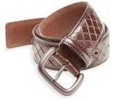 Bottega Veneta Intreccio Scolpito Woven Leather Belt